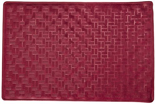 Carnation Home Fashions Small 13 Inch By 20 1 2 Inch Rubber Bath Tub Mats Burgundy Bathtub Mat Tub Mat House Styles