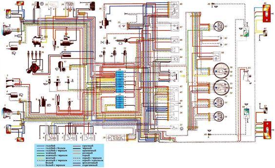 Niva 2121 wiring schematic diagram Niva Lada Pinterest