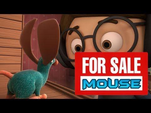 ▶ ''Ratón en venta'' - Cortometraje de animación  Va sobre un ratón en venta al que nadie compra por sus grandes orejas y.....