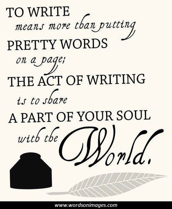 Writer's Life Quotes - Yahoo Image Search Results
