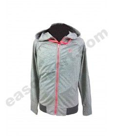 ONLY PLAY-CHAQUETA MUJER PLAY DIDO HOODIE GRIS