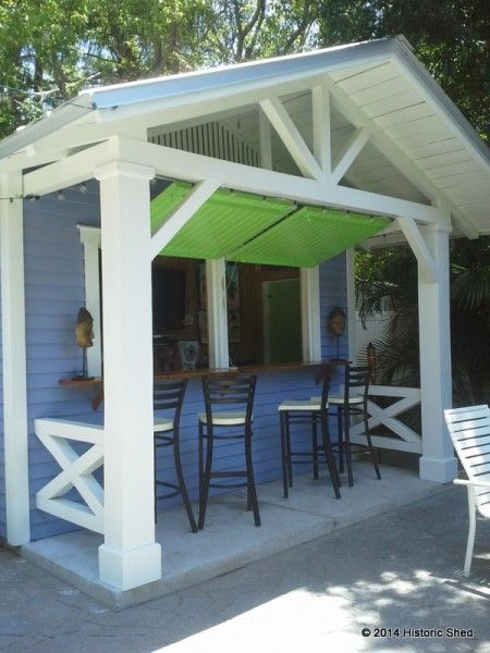 Custom bar shed by historic shed historic shed outdoor for Garden pool sheds