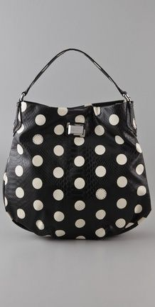 I love this Marc by Marc Jacobs Dotty Snake Hillier Hobo (via Shop It To Me)