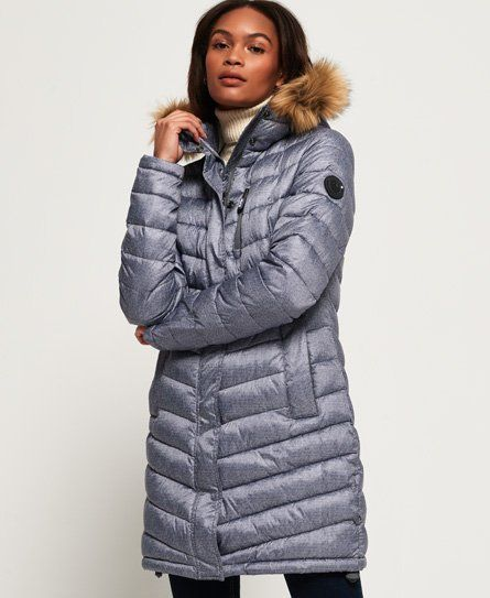 Superdry Chevron Faux Fur Super Fuji Jacket in 2019