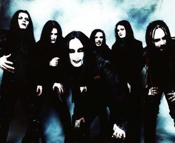 Cradle of Filth  The Garage, Glasgow, 1998, on my own lol