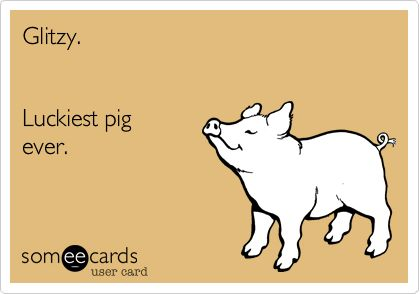 But he was the only wan w/ a brain in that family, smart pig, run far-run free!