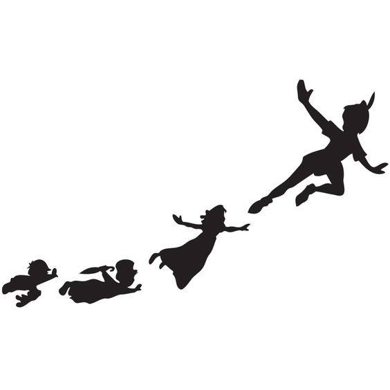 peter pan silhouette piece interlocking anti fatigue floor mat system with edges as low sugar pinterest peter pan silhouette peter pans and