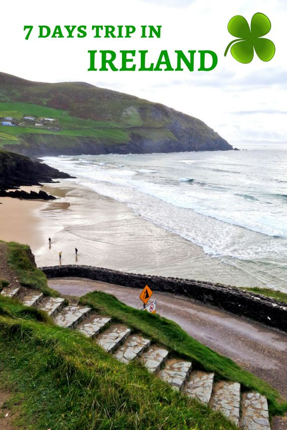"""Special Saint Patrick's Day: 7 days trip in Ireland. French article but lots of """"green"""" photos!"""