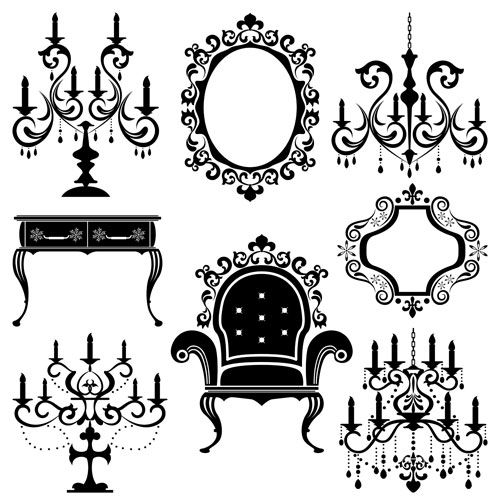 Interior Design Furniture Stencils ~ Victorian furniture era and on pinterest