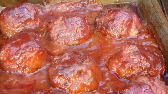 BBQ Meatballs Recipe By The BBQ Pit Boys -- Watch BBQ Pit Boys create this delicious recipe at http://myrecipepicks.com/1167/BBQPitBoys/bbq-meatballs-recipe-by-the-bbq-pit-boys/