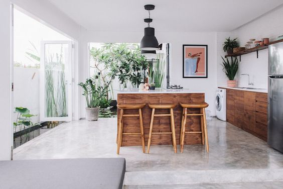 my scandinavian home: Exotic meets boho in a Bali pool villa:
