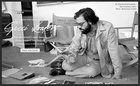 Francis Ford Coppola GUCCI LOAFERS