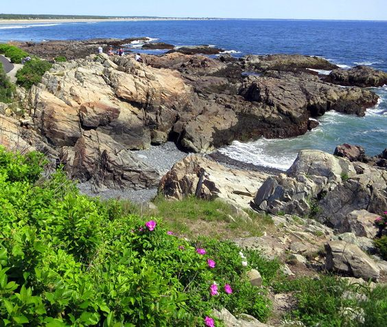 Ogunquit, Maine. Click for a secret about how to improve your relationships, with an example from this beach!