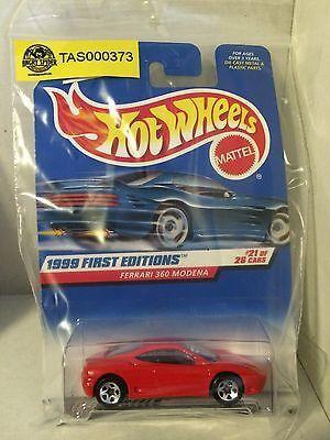 (TAS000373) - Mattel Hot Wheels Car - Ferrari 360 Modena