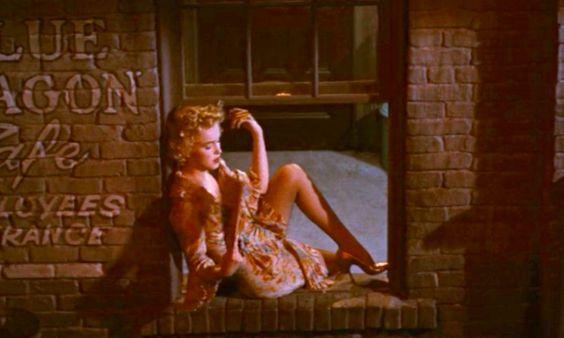 Marilyn in ''Bus Stop'' 1956