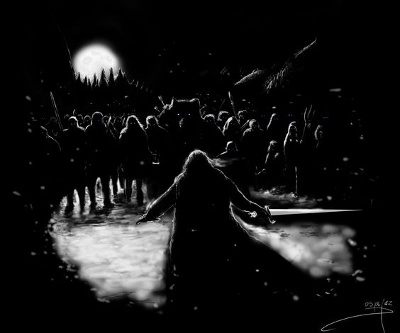 The night is dark and full of terrors... by ~Kenseer