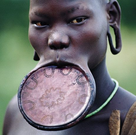 culture: African People, African Tribe, African Lip, African Beauty, Faces Faces, People Culture, African Culture, Lip Plates