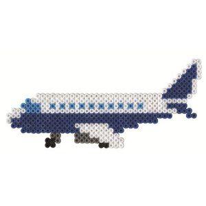 Flugzeug Bügelperlen Airplane perler beads