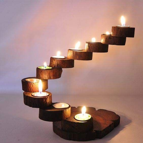 Pin By Santie Carelse On Wood Worm Art Wooden Candle Sticks Wooden Candle Holders Wood Candle Sticks