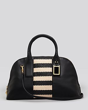 MARC BY MARC JACOBS Satchel - Show Off Striper Straw