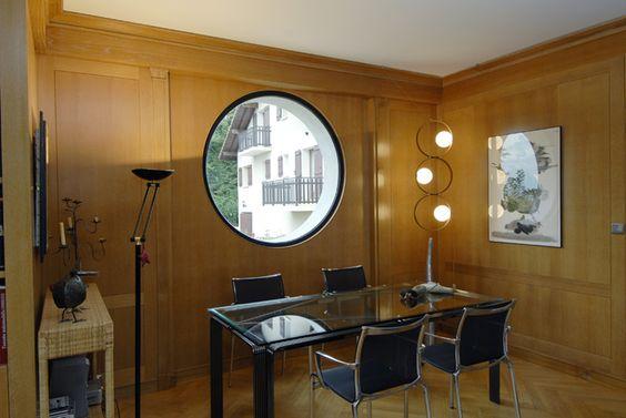 Fenetre ronde noir tryba en forme la fen tre pinterest for La fenetre apartments