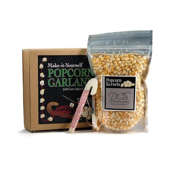 DIY Popcorn Garland Kit - Make Your Own Christmas Garland