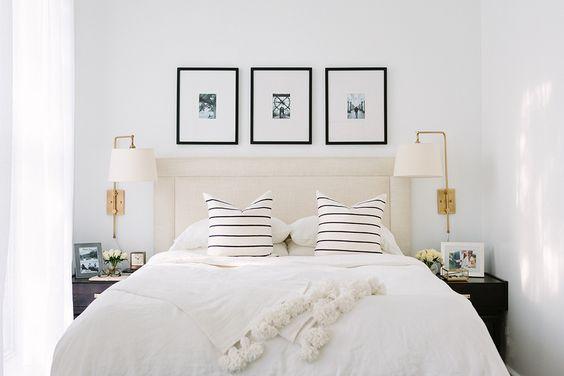 Cream and White Bedroom | Slumber | Pinterest | Zuhause ...