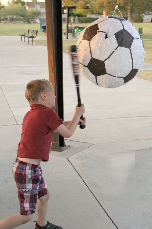 Soccer Theme Party Games Soccer Themed Birthday Party Ideas Supplies Decorations And Soccer Theme Parties Soccer Birthday Theme Sports Themed Birthday Party