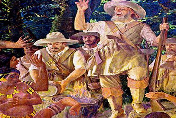 Crônicas Americanas: O velho diabo: Anhanguera