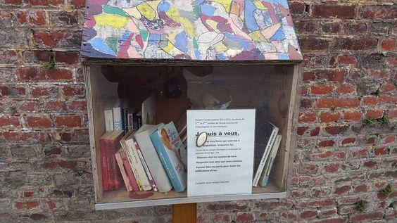 Boîte à livres Oeudeghien