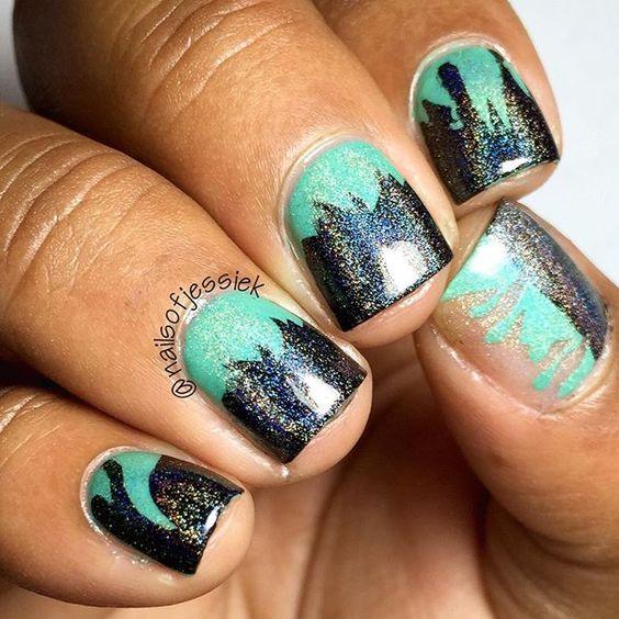 nails.quenabertini: Instagram photo by heyitsjessie.k | ink361