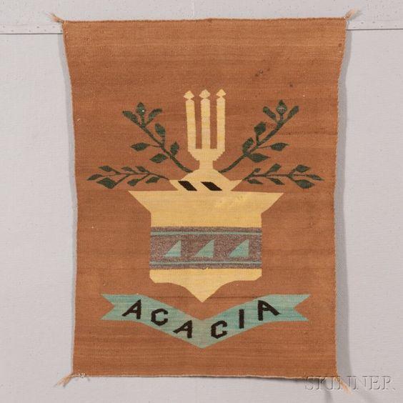 "Navajo ""Acacia"" Fraternity Weaving"