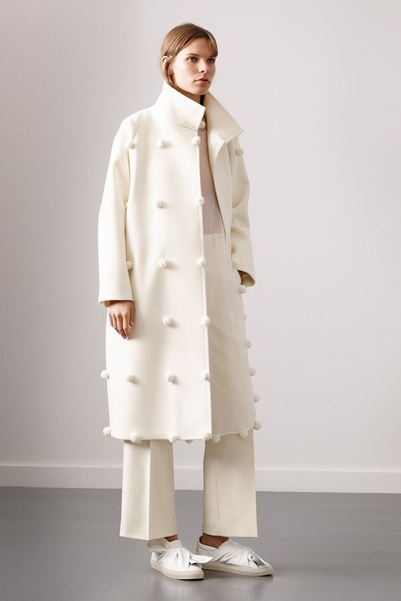 this pom pom coat from Ports 1961!