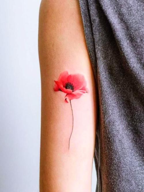 Small Watercolor Tattoo Image By Lea Rubis On Ta Tou Age Tattoos