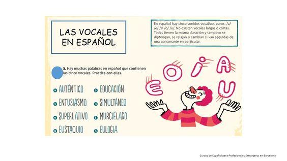 las vocales!