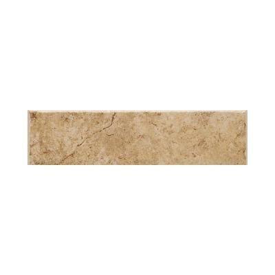 Daltile Fidenza Dorado 2 in. x 6 in. Ceramic Bullnose Wall Tile-FD03S42691P2 - The Home Depot