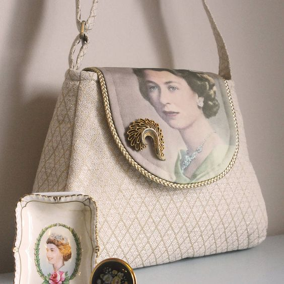 God Save The Queen Limited Edition Handbag by Sarah Culleton