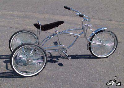 "Lowrider Trike  20"" CHROME"