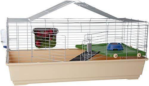 Amazon Com Amazonbasics Small Animal Habitat Jumbo Pet Supplies Small Pets Small Animal Cage Pet Cage