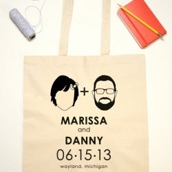 The Coolest Wedding Tote Bags Ever