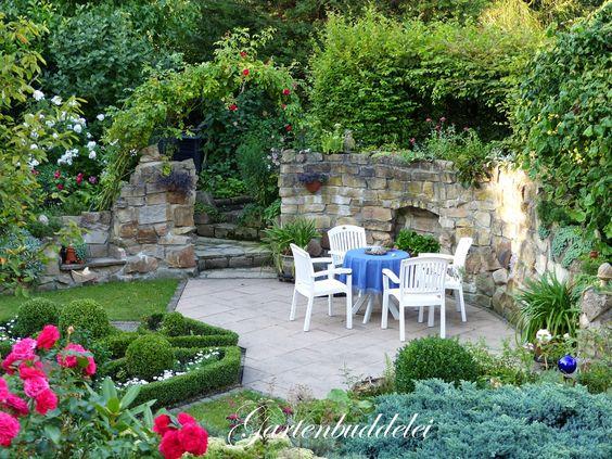 Gartenbuddelei: Wie früher...