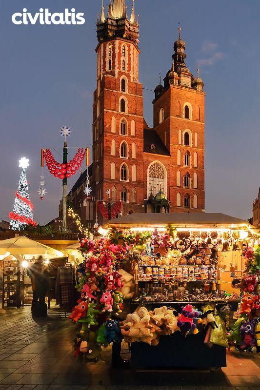 Mercadillos Navideños De Cracovia Mercado De Navidad Mercados Navideños Cracovia