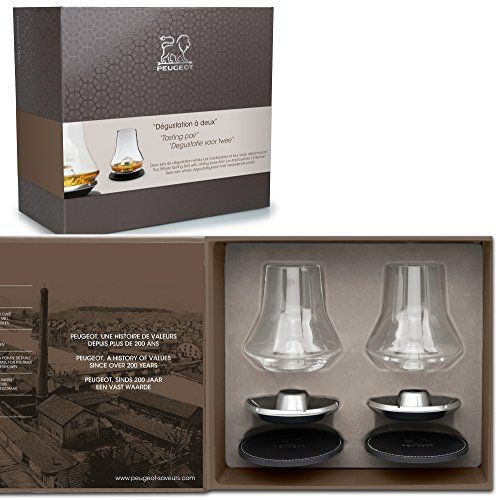 Peugeot Saveurs 250348 Degustation A Deux Coffret Noel Whisky Verre Transparent 262 X 132 X 235 Cm Verre De Whisky Whisky Verre