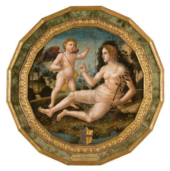 'Venus y Cupido', de Girolamo di Benvenuto