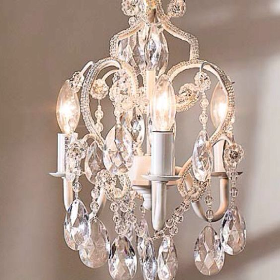for her girls and girls room chandeliers on pinterest