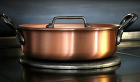 Waarom kiezen voor koperen potten en pannen? - Falk Culinair