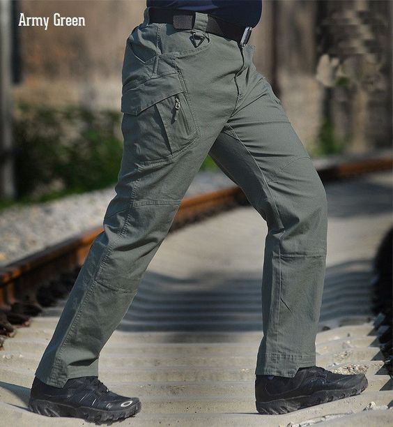 Tactical Cargo Outdoor Pants - 6 Colors - M - XXL
