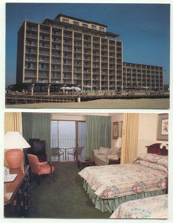 Postcard Md Ocean City Maryland Quality Inn Boardwalk At 17th Street X10 5 99 Ocean City Ocean City Maryland Ocean City Md