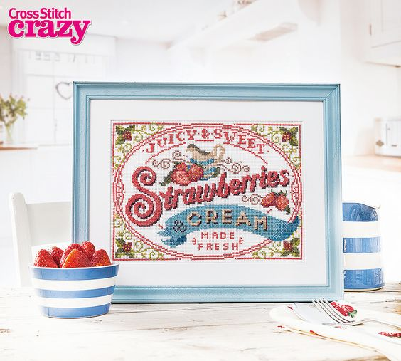 Celebrate summer with Emma Congdon's gorgeous sampler in issue 204 of Crazy, available to buy as a back issue or download to your smartphone or tablet!