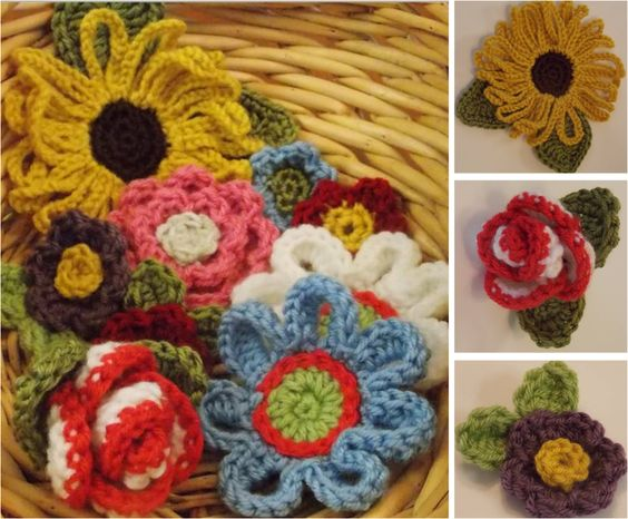 Knitting And Crocheting Flowers Alpaca Meadows